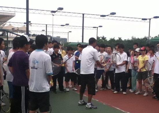 【网球】私人教练:王鹏